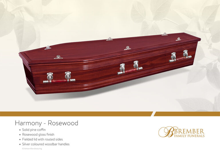 Harmony Rosewood Casket