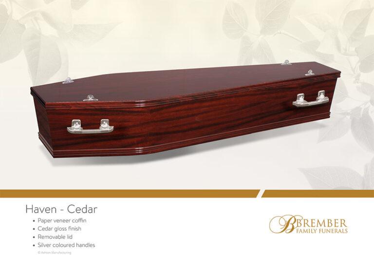 Haven Cedar Casket