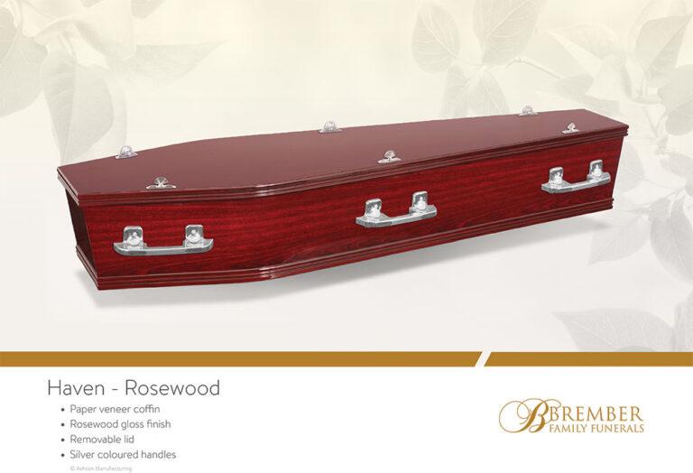 Haven Rosewood Casket