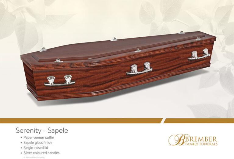 Serenity Sapele Casket