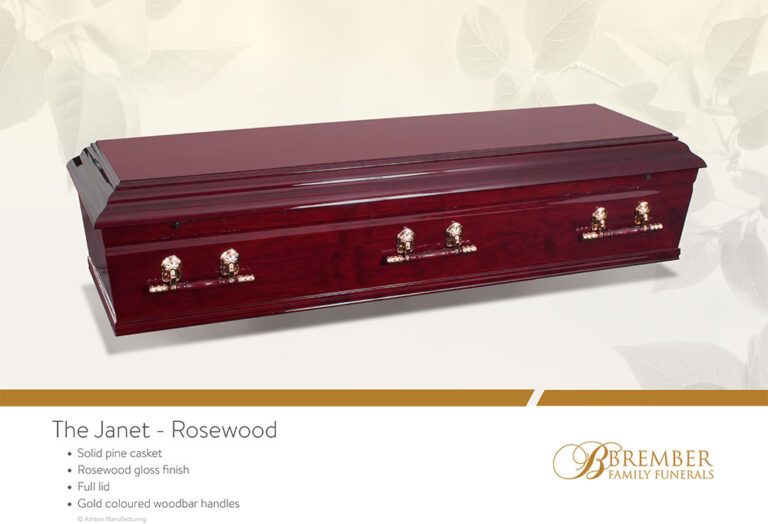 The Janet Rosewood Casket